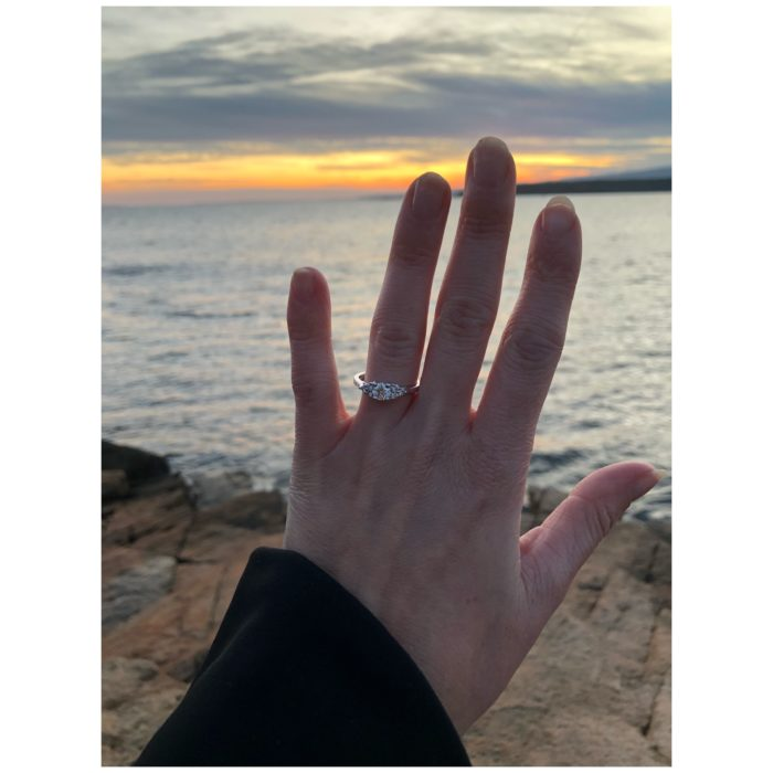 Engagement Proposal Ideas in Schoodic point - Winter Harbor
