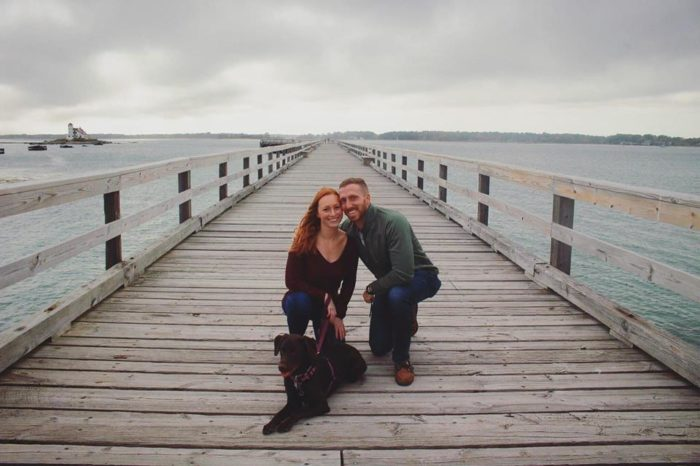 Wedding Proposal Ideas in Fort Foster, Kittery, Maine