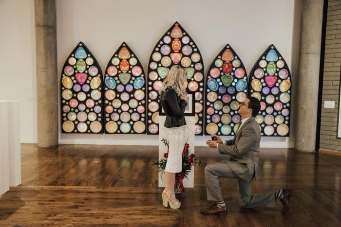 Engagement Proposal Ideas in Utah Museum of Contemporary Art