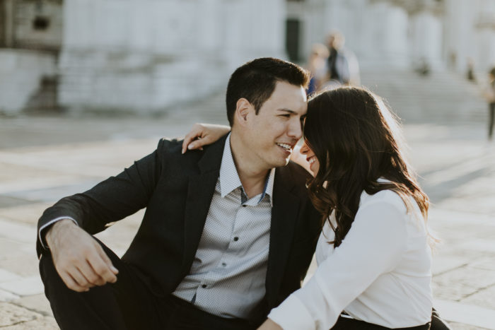 Lauren and Kimo's Engagement in Venice, Italy
