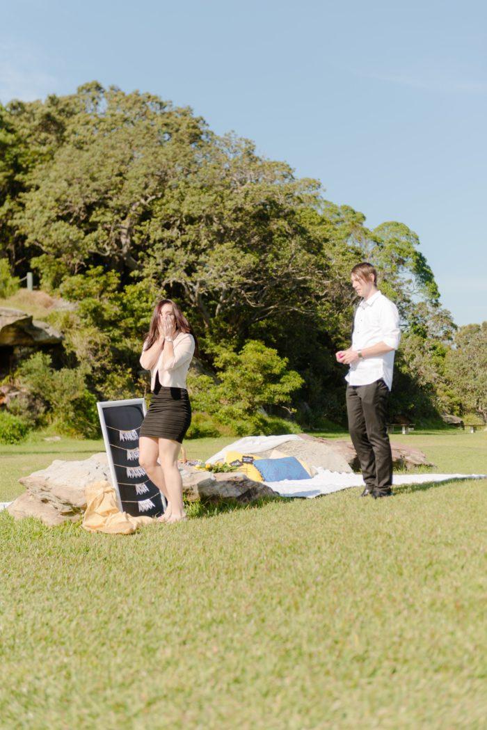 Where to Propose in Clark Island Sydney Australia