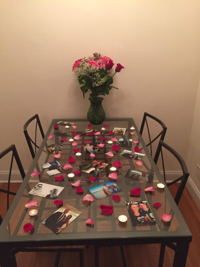 Megan's Proposal in In our apartment