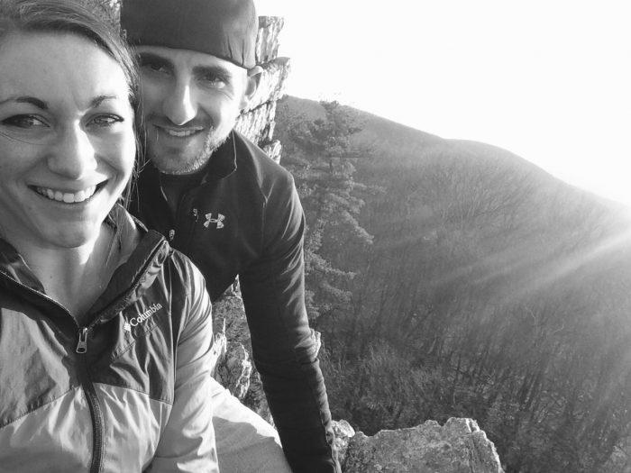 Ashley and Nick's Engagement in Kings Gap, Carlisle PA