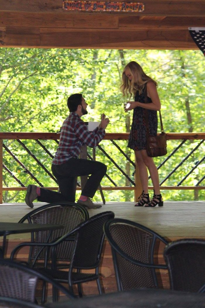 Amy and Bryce's Engagement in Amber Falls Winery & Cellars