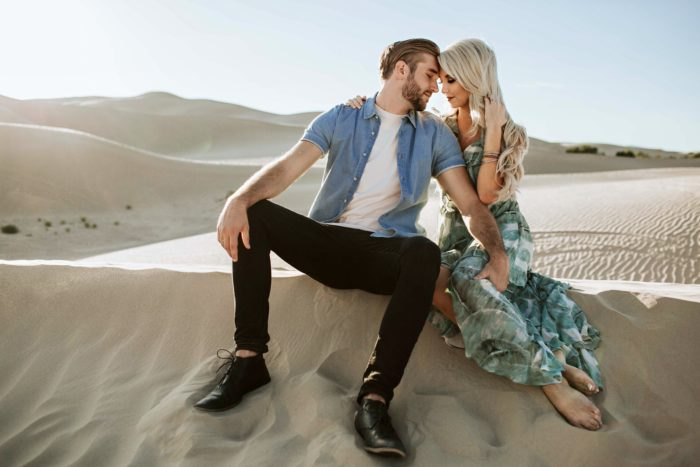 Janessa and Steve's Engagement in Lake Powell