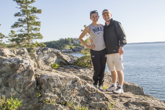 Steph's Proposal in Acadia National Park