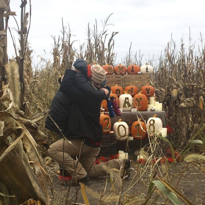 Marriage Proposal Ideas in Pumkinville Corn Maze