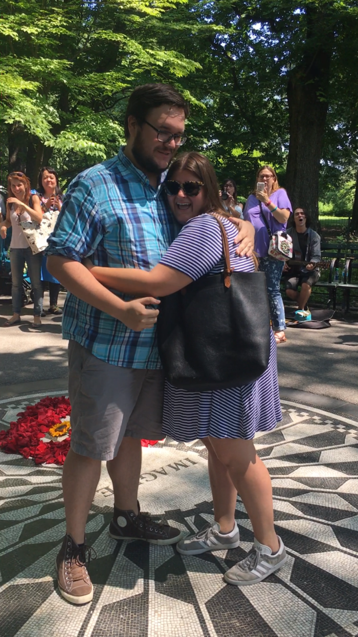 Engagement Proposal Ideas in New York City, Central Park