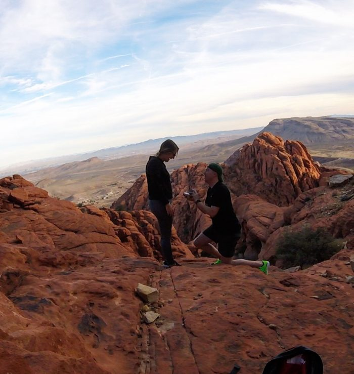 Wedding Proposal Ideas in Red Rock Canyon, Nevada