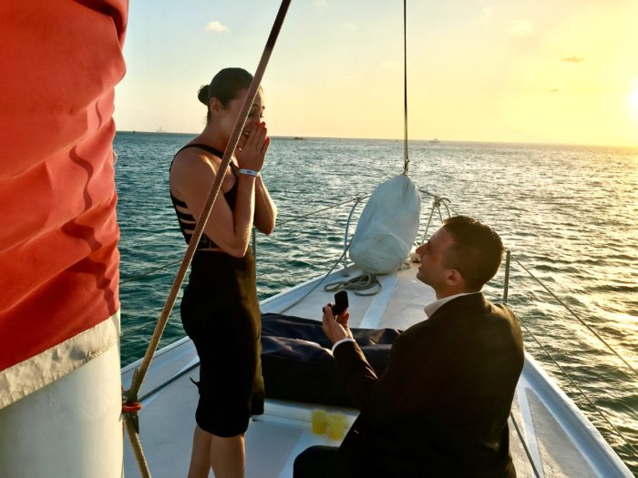 Hanna's Proposal in Aruva