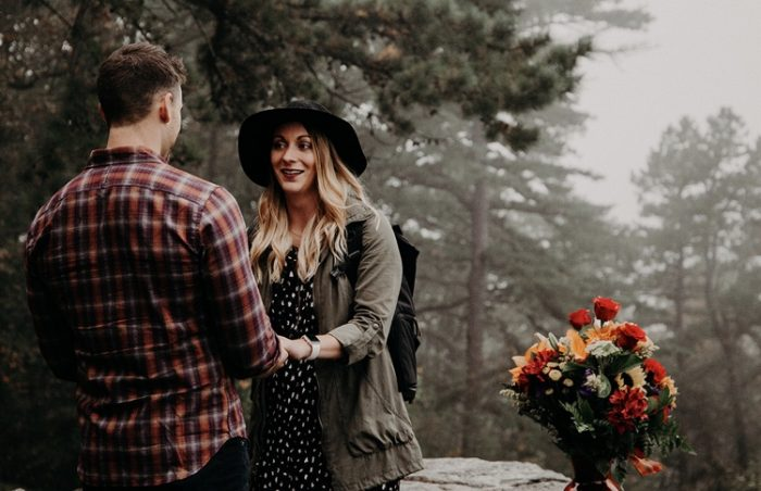 Ashley and Nick's Proposal on The Knot's HowTheyAsked.com