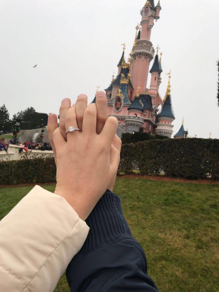 Wedding Proposal Ideas in Disneyland paris