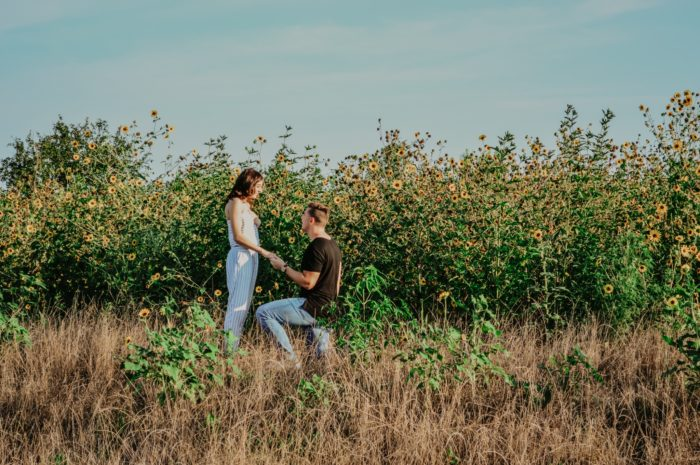 Audrey and Chad's Engagement in Waco, TX