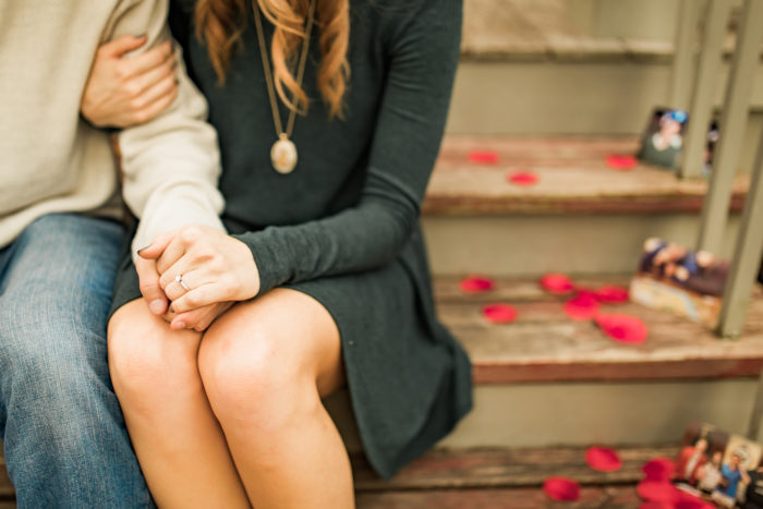 Wedding Proposal Ideas in Old Historic Village, Faust Park, Chesterfield, MO