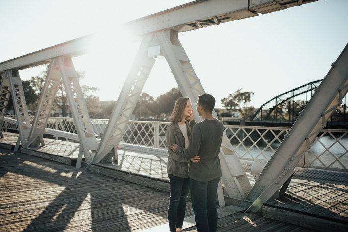 Proposal Ideas Waco, TX Suspension Bridge