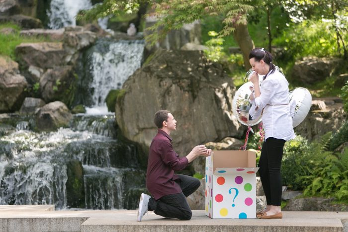 Where to Propose in Kyoto Gardens, Holland Park, London