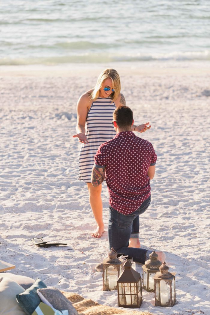 Wedding Proposal Ideas in Pass A Grille Beach, Florida