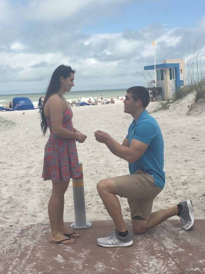 Engagement Proposal Ideas in Clearwater beach, Fl