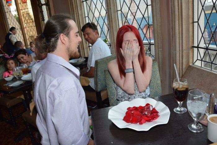 Wedding Proposal Ideas in Cinderella's Castle, Disneyland