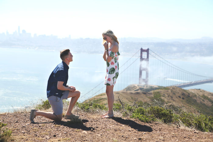 Marriage Proposal Ideas in Marin County, California