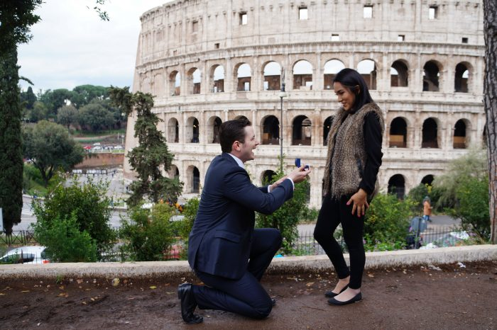 Engagement Proposal Ideas in Rome, Italy