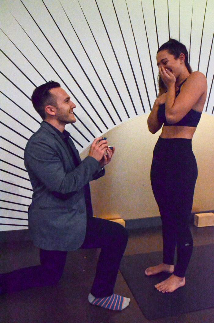 Wedding Proposal Ideas in Yoga Tree Studios (Bay & Dundas) - Downtown Toronto