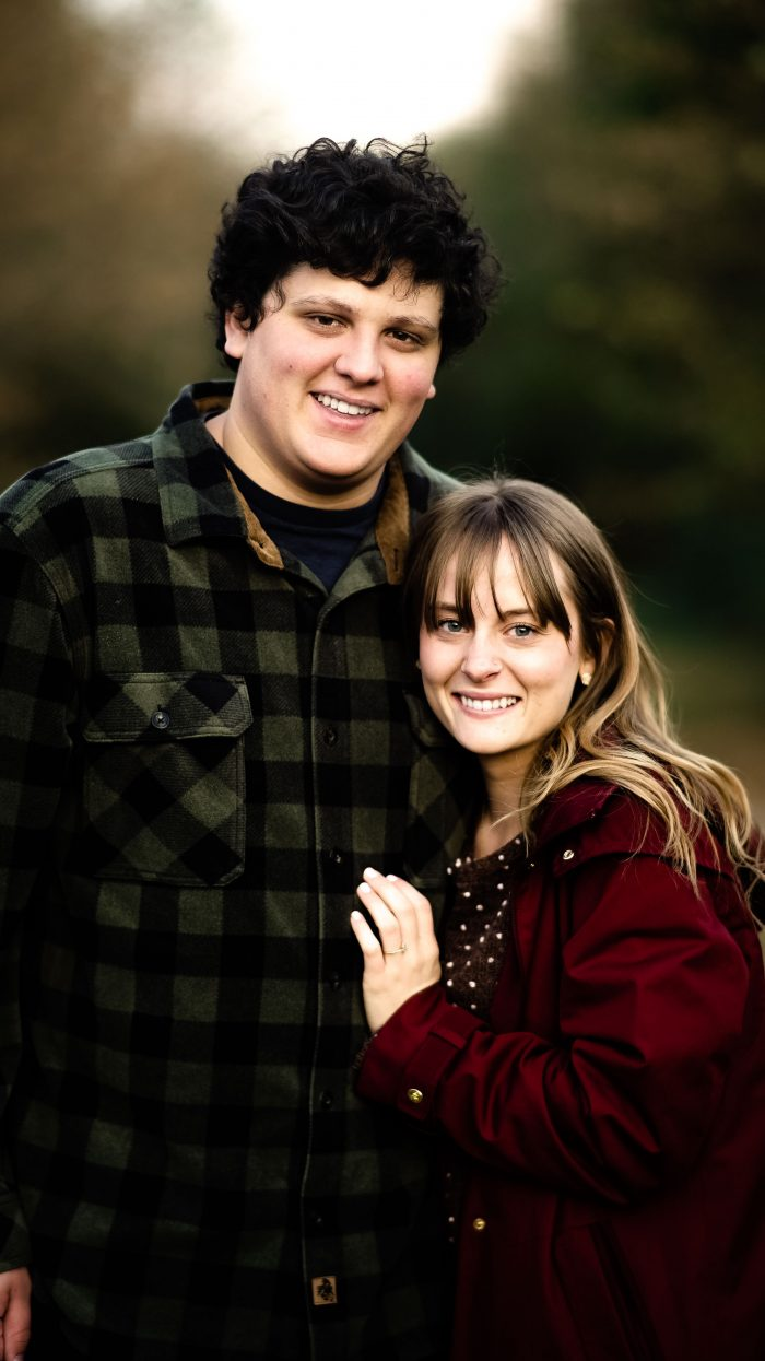 Hannah's Proposal in The Bike Trail, searcy AR