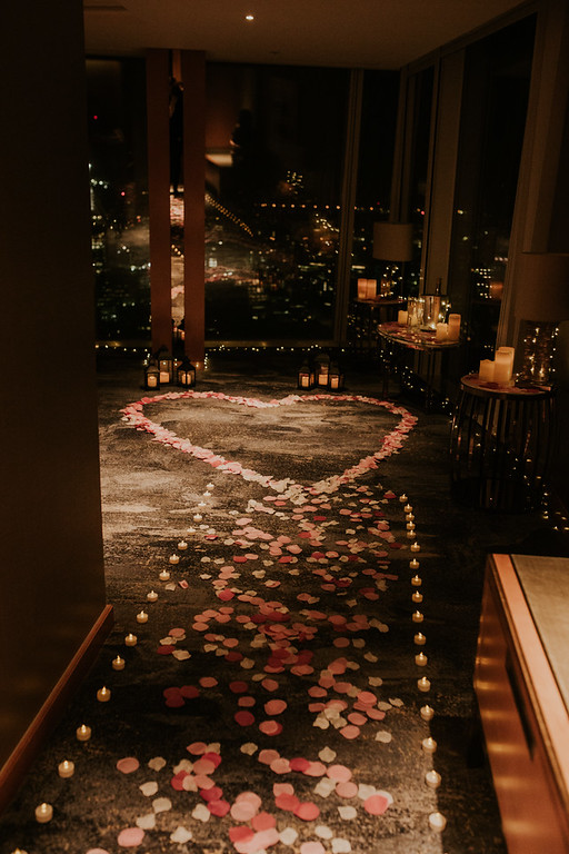 Wedding Proposal Ideas in The Shangri-La, Shard, London
