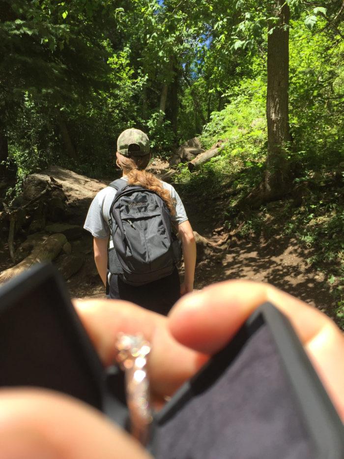 Jessica's Proposal in Hanging Lake - Glenwood Canyon, CO
