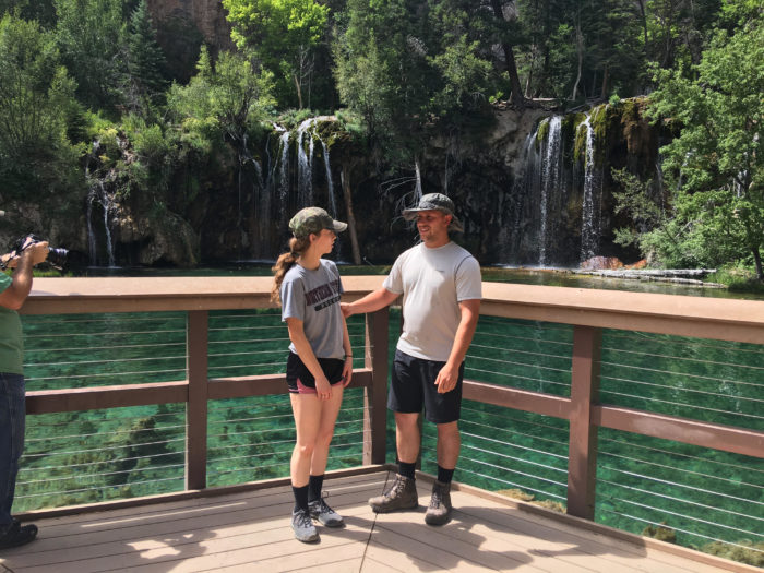 Engagement Proposal Ideas in Hanging Lake - Glenwood Canyon, CO