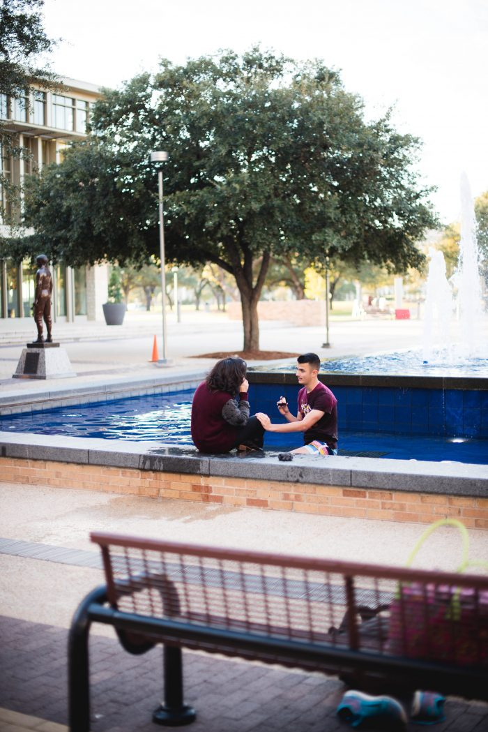 Where to Propose in Texas A&M University's Rudder Fountain