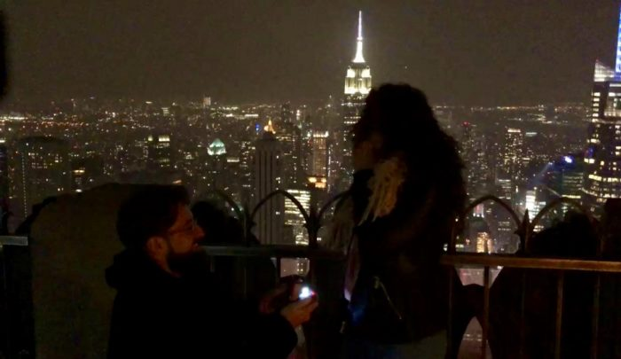Proposal Ideas Top of the Rock, NYC, NY