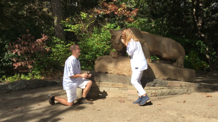 Where to Propose in Penn State University