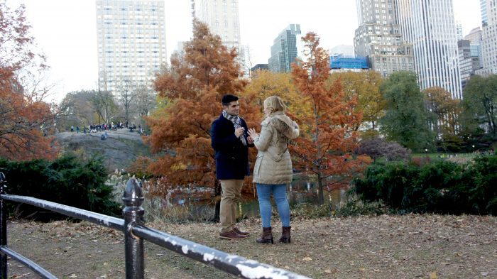 Danielle's Proposal in Central Park NYC