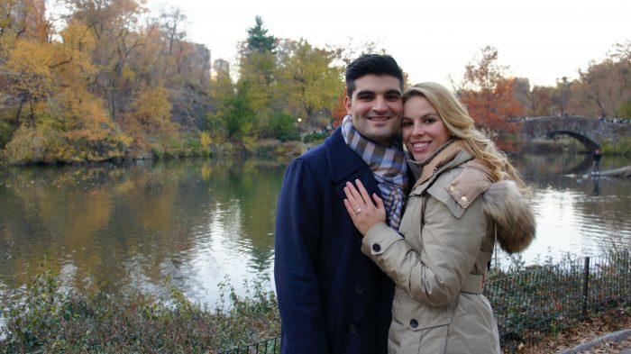 Marriage Proposal Ideas in Central Park NYC