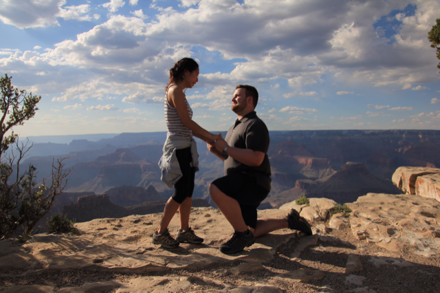 Engagement Proposal Ideas in The Grand Canyon