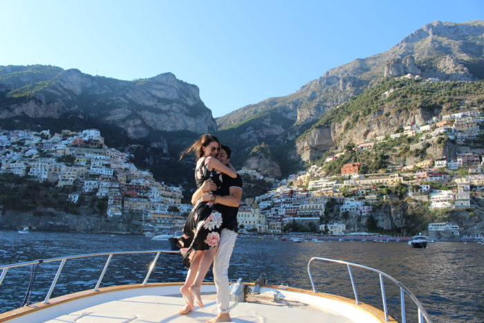 Marriage Proposal Ideas in Positano, Italy