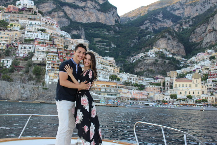 Alexandra's Proposal in Positano, Italy