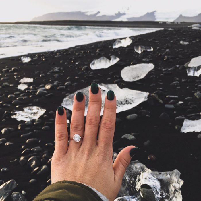 Proposal Ideas Diamond Beach, Iceland