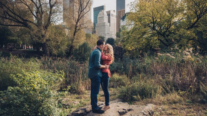 Brittany's Proposal in Central Park