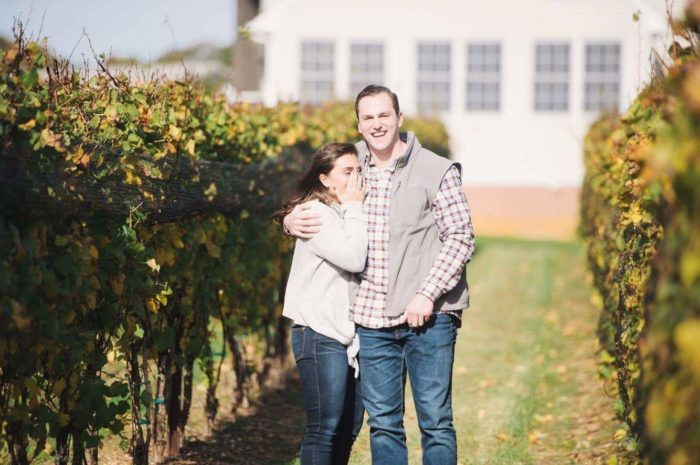 Where to Propose in Old Westminster Winery