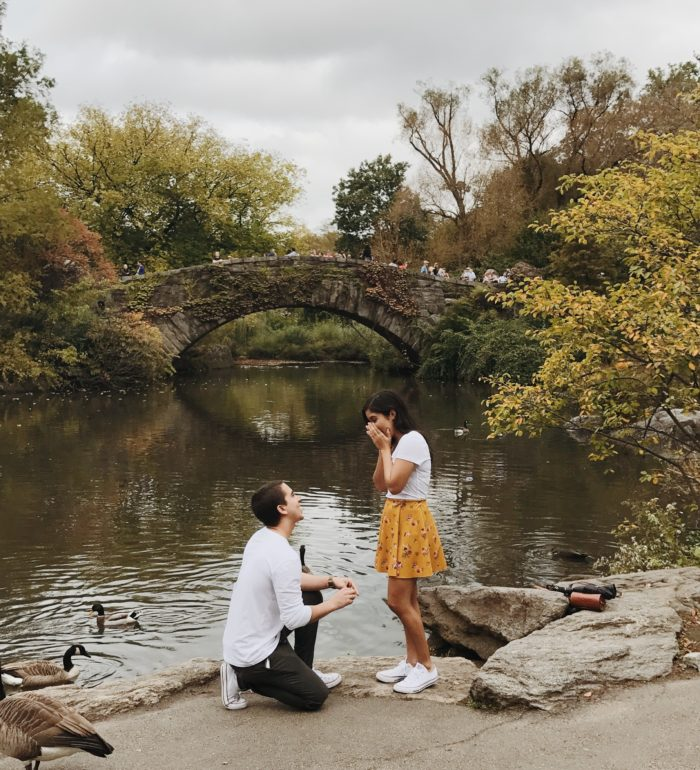 Deborah and Oscar's Engagement in Central Park, New York City