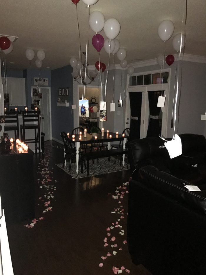 Where to Propose in At our home