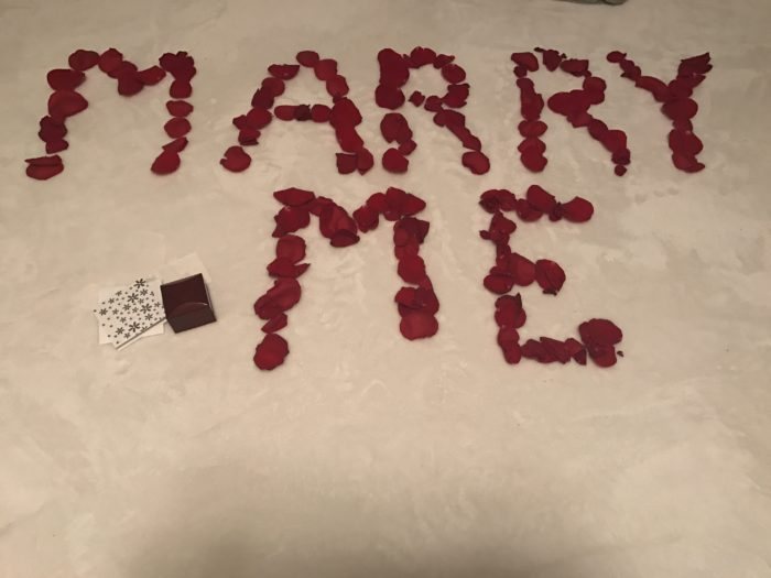 Engagement Proposal Ideas in At our home
