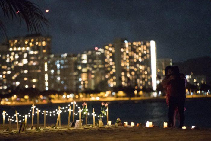 Proposal Ideas Beach, Honolulu Hawaii