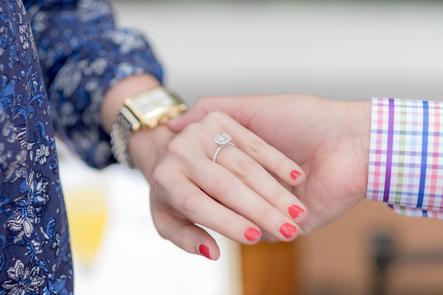 Image 2 of Should You Go Engagement Ring Shopping Together?