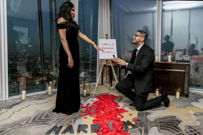 Proposal Ideas Shangri-la Hotel in The Shard