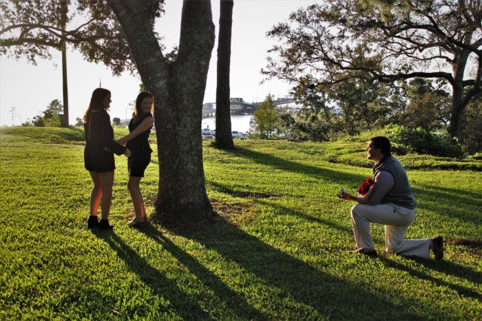 Wedding Proposal Ideas in Fairhope Bluff