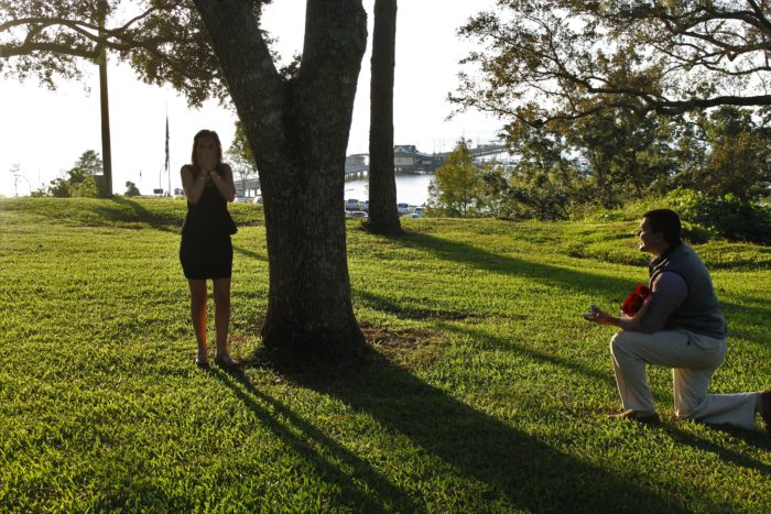 Engagement Proposal Ideas in Fairhope Bluff