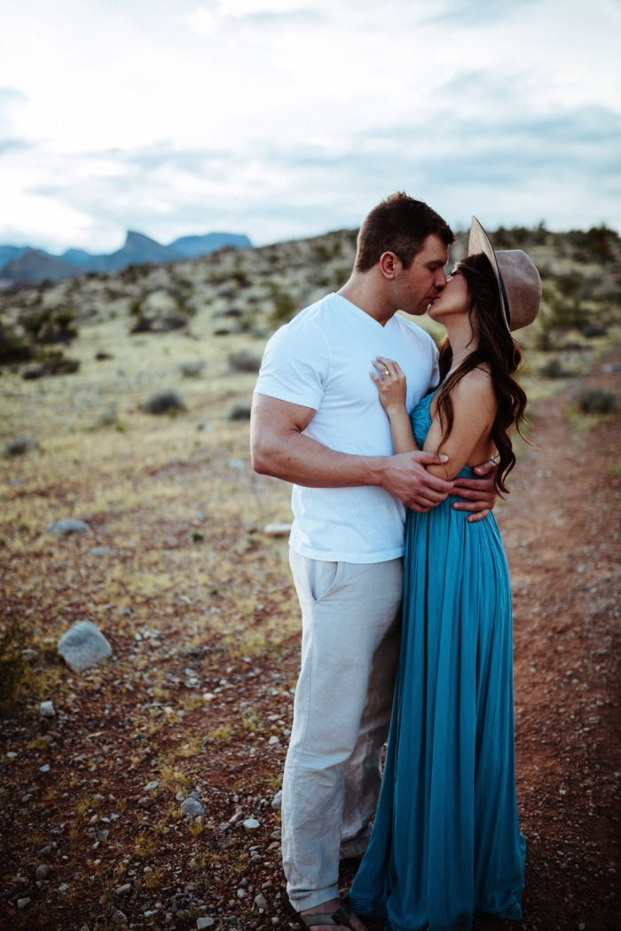Jessica and Kiffer's Engagement in Las Vegas, NV